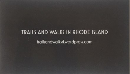 Trails and Walks Business Card Front